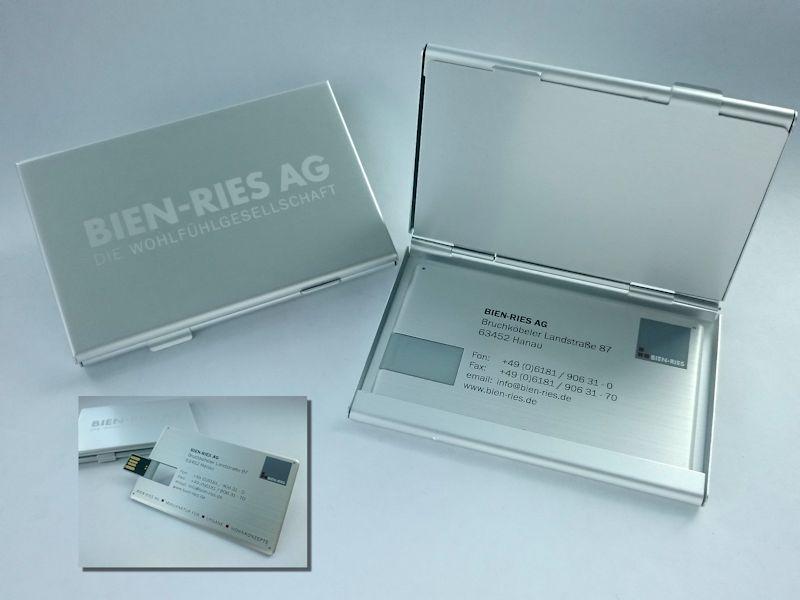 Usb Scheckkarte Aus Metall Copy Media